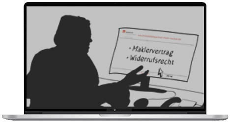 Video Maklervertrag Widerrufsrecht